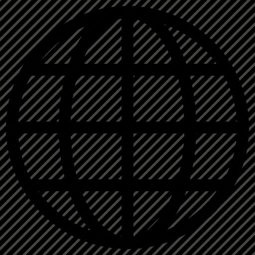 earth, global, globe, network, web, worldwide icon