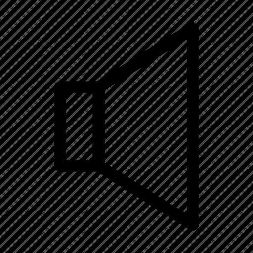 audio, level, music, silent, sound, speaker, volume icon