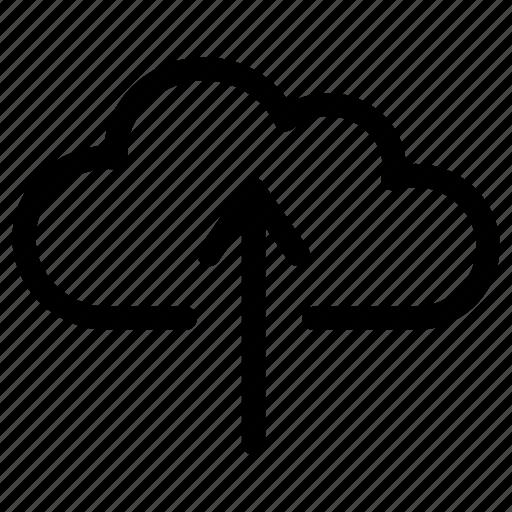 cloud, data, export, send, storage, upload, uploading icon