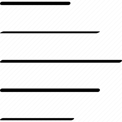 bars, data, menu, option icon