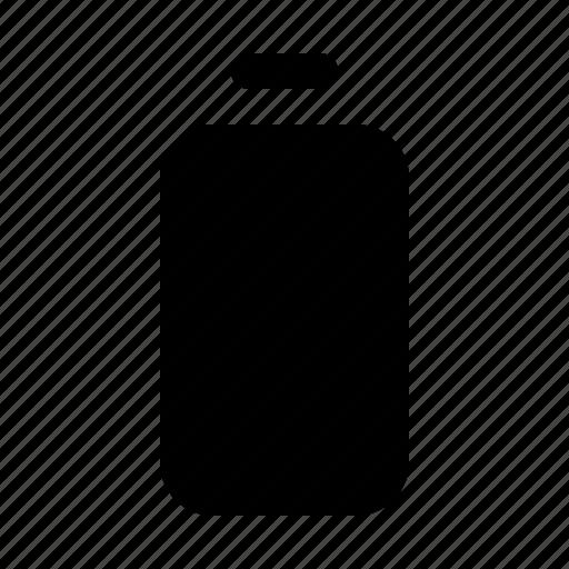 empty battery, energy, ui icon