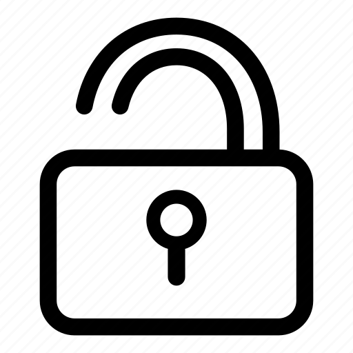 locked, padlock, password, protection, secure icon