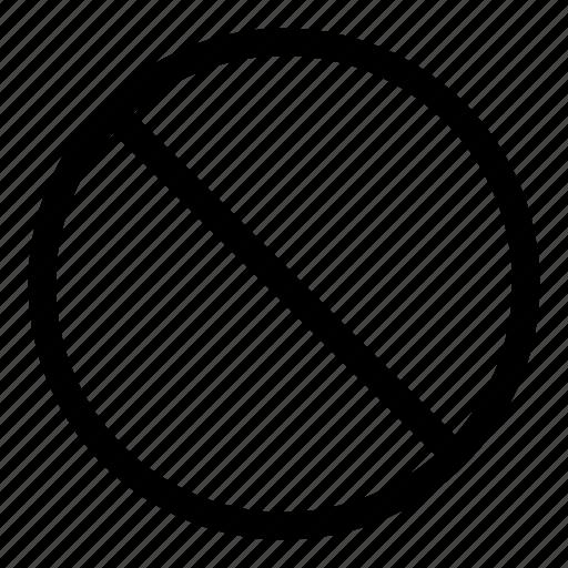 ban circle, ban traffic, cancel, diagonal, no entry, no parking, stop icon