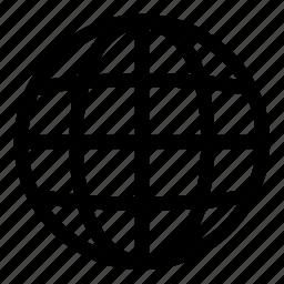 earth, earth grid, grid word, planet, planet earth, solar system icon