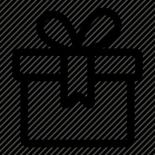 birthday, box, christmas presents, gift icon