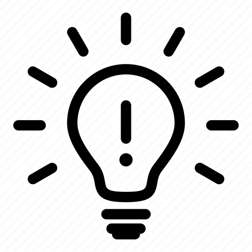 bulb, creativity, electric, energy, idea, inspiration, lighting icon