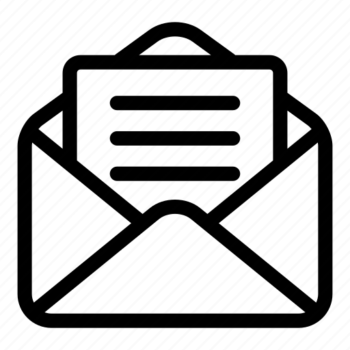 mail, messages, opened, opened email, read, sent icon