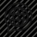 multi, language, universal, globe, languages, multilanguage, balloon
