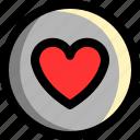 bookmark, favorite, good, heart, like, love, star