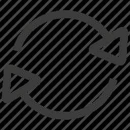 refresh, reload, sync, synchronize icon