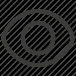 eye, eyes, search, view icon