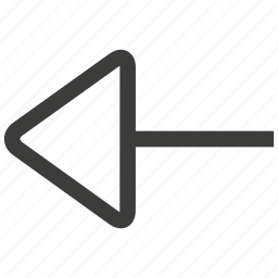 arrow, arrows, back, direction, left, navigation, previous icon