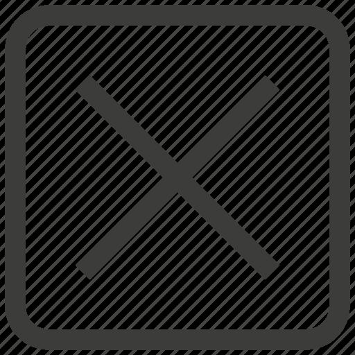 cancel, close, closed, delete, exit, remove, ui icon