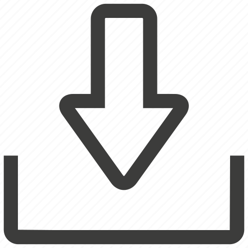 arrow, document, down, download, file, guardar, save, storage icon
