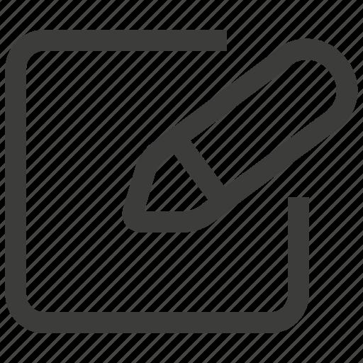 document, edit, format, modify, pen, pencil, write icon