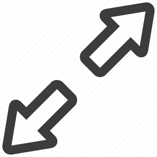 arrow, arrows, control, expand, expanding, ui, windows icon