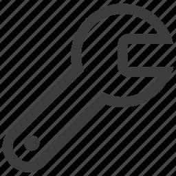 equipment, fix, repair, settings, tool, tools, wrench icon