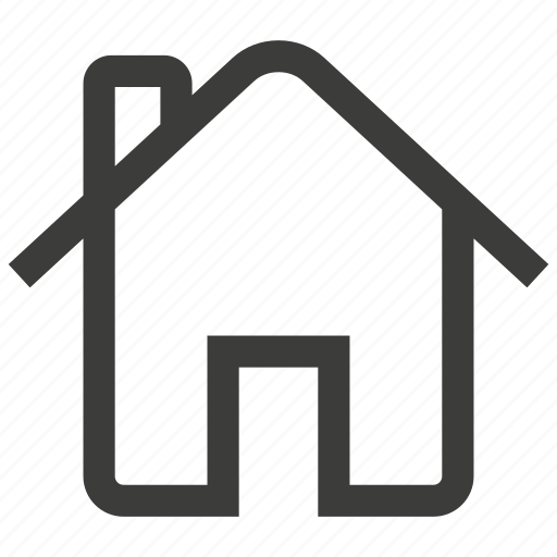 building, estate, home, house, real, web, website icon