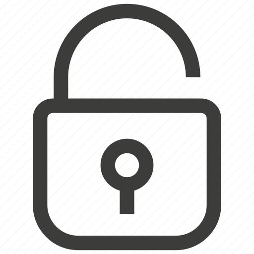 access, key, lock, open, password, security, unlock icon