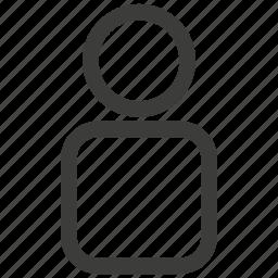 account, avatar, people, person, profile, ui, user icon