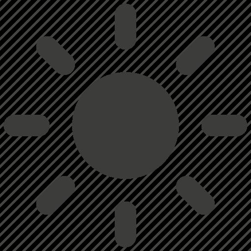 bright, brightness, dark, light, sun, sunny, weather icon