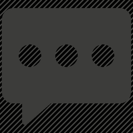 bubble, chat, communication, conversation, message, talk icon