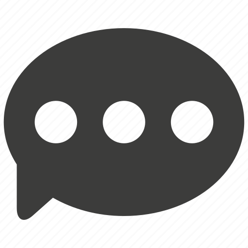 bubble, chat, communication, conversation, message, talk, ui icon