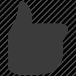 bookmark, favorite, heart, like, love, thumb, thumb up icon