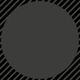 circle, moon, rec, record, recorder, recording, ui icon