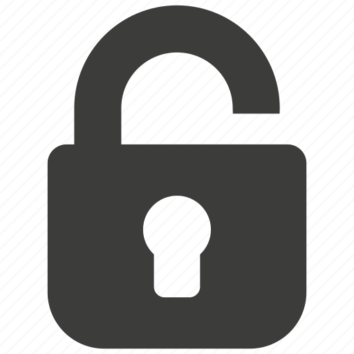 key, lock, password, protection, safe, security, unlock icon