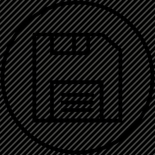 disk, folder, old disk, save icon
