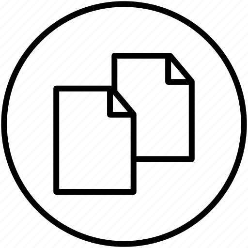 document, duplicate, new, new document icon