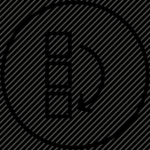 arrangement, arrows, ui, vertical icon