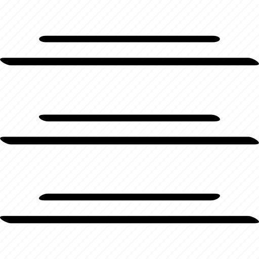 lines, list, listing icon
