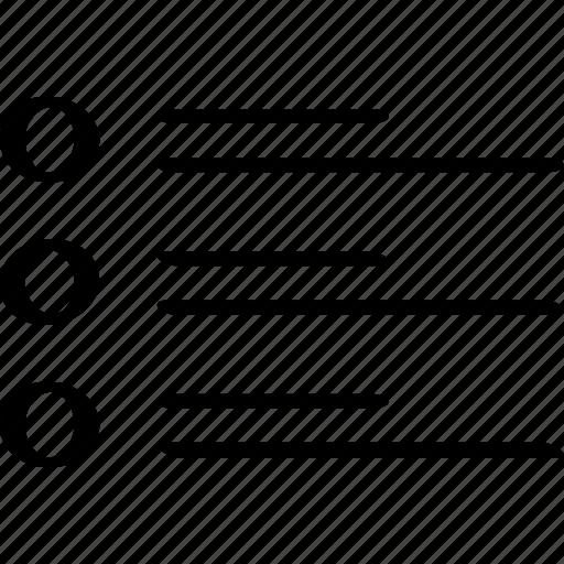 design, list, page icon