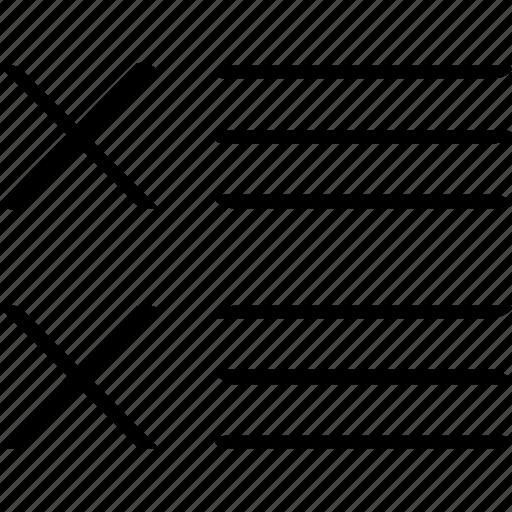 list, news, stop icon