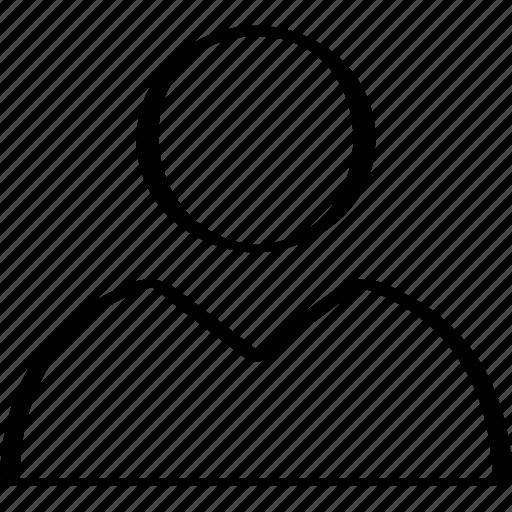 profile, user, web icon