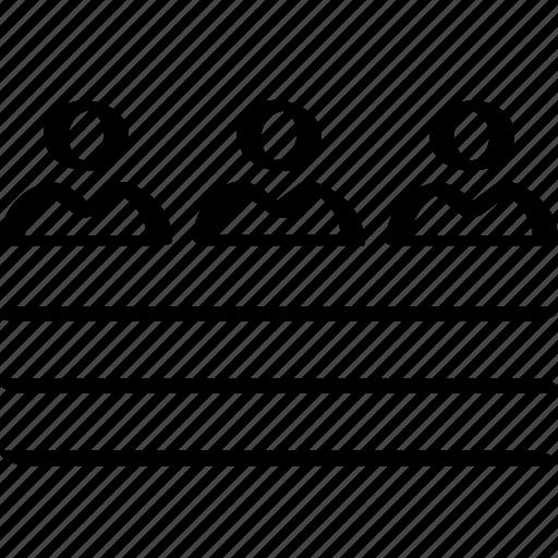 three, users, ux icon