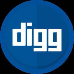 blogging, digg, digg logo, internet, social media icon