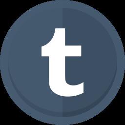blogging, social media, tumblr, tumblr logo icon