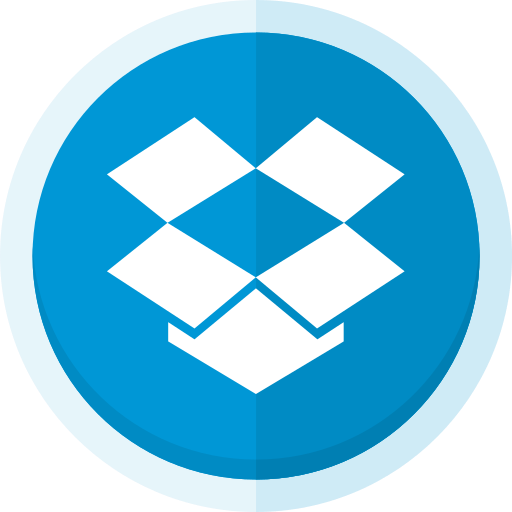 cloud storage, dropbox, dropbox logo, file storage, file transfer, upload icon