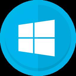 computers, mircrosoft, windows, windows 8, windows logo icon