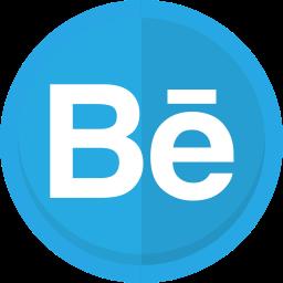 behance, behance logo, creative, graphic design, portfolio, web design icon