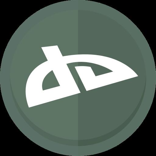 art, artists, deviant, deviant art logo icon