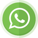 social media, app, messenger, whatsapp, whatsapp logo icon