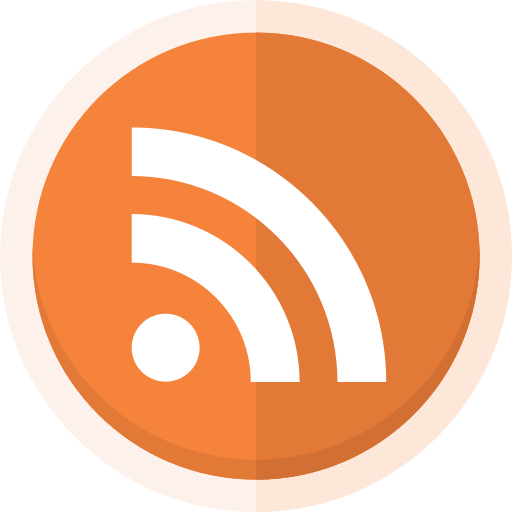 blogger, blogging, feed, rss, rss logo icon