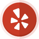 location, social media, yelp, yelp logo icon