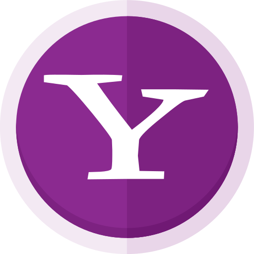 Search engine, yahoo, yahoo business, yahoo finance, yahoo logo, yahoo mail,  yahoo messenger icon - Free download