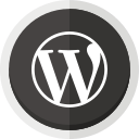 online blogging, wordpress, wordpress logo icon