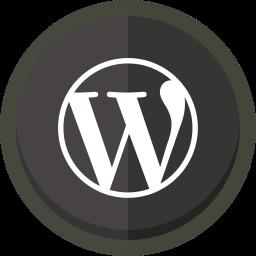 online blogging, wordpress, wordpress logo icon